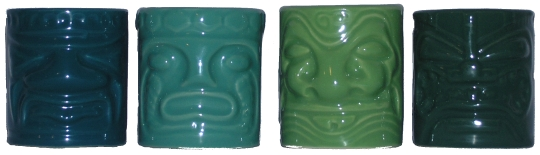 Accoutrements Small Tiki Mugs