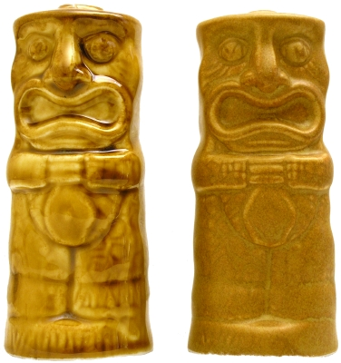 Chiki Tiki Salt and Pepper Shakers