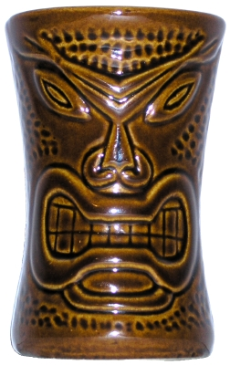 brown Daga warrior mug