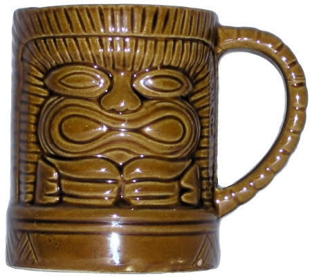 Dynasty Wholesale DW108 Tiki with handle mug