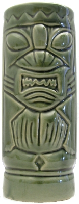 Dynasty Wholesale DW113 Green Tiki mug