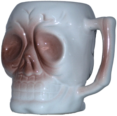 Dynasty Wholesale DW120 Skull mug
