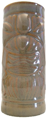Front view of light brown Libby Totem mug