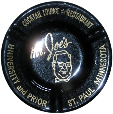 Ashtray from Mr Joe's