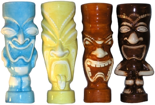Pony Express Creations 20 Ounce Tiki Mugs