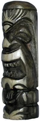 Wood Tiki Statue