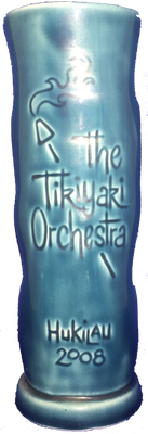 The Tikiyaki Orchestra Hukilau 2008 Mug - rear view