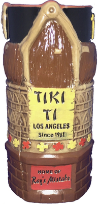 Tiki Ti Ray's Mistake Mug - back view