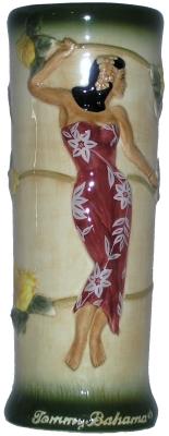 Tommy Bahama 2002 Kimono Lady mug