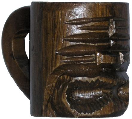 Monkeypod Tiki mug